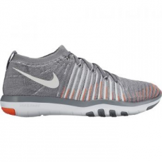 Nike Free Transform Flyknit Női Fitness Cipő, Cool Grey/Platinum, 35.5 (833410-006-5)