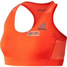 Reebok melltartó, melltartó sport Reebok Workout Ready Stacked Logo Bra W BK4206