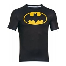 Under Armour Alter Ego Compression SS BATMAN Férfi póló, Fekete, XL