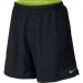 "Nike 2 in 1 Pursuit 7"" férfi nadrág, Black/Volt, XL (683288-010-XL)"