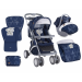Lorelli Apollo SET sport babakocsi - Dark Blue Friends 2017