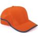 CapYard Hi-Viz baseball sapka,fluo narancs (7CAPO)