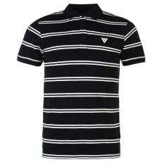 Soviet férfi póló - Soviet Double Stripe Polo Shirt