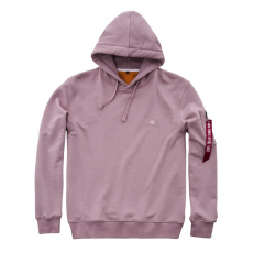 Alpha Industries X-Fit Hoody - silverpink