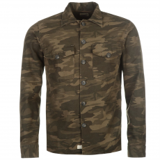 Jack and Jones Kabát Jack and Jones Vintage Orlando Camouflage Shacket fér.