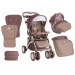 Lorelli Apollo SET travel system babakocsi - Beige Star 2017