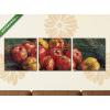 Képáruház.hu Vincent Van Gogh: Almák(125x40 cm, B01 Többrészes Vászonkép)