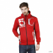 Geographical Norway férfi pulóver Goviar_man_red-fekete