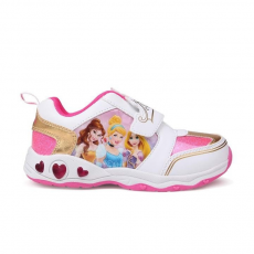 Character Light Up gyerek cipő villogó talppal - Princess - Character Light Up Infants Trainers