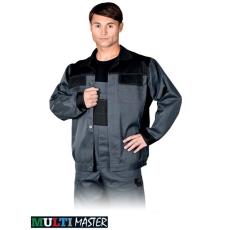 Szürke MASTER kabát, 65% poliészter és 35 % pamut  (262 g/m2)