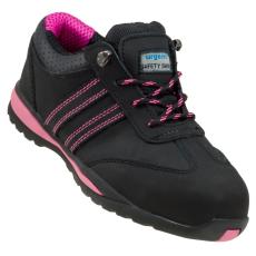 Munkavédelmi nubukbőr cipő OPTIM 214 S1