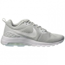 Nike Air Max Motion Low női sportcipő, Platinum/White, 30 (833662-010-8.5)