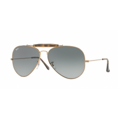 Ray-Ban RB3029 197/71 OUTDOORSMAN II SHINY BRONZE LIGHT GREY GRADIENT DARK GREY napszemüveg