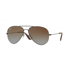 Ray-Ban RB3558 002/T5 BLACK LIGHT GREY GRADIENT BROWN napszemüveg