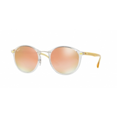 Ray-Ban RB4242 6288B9 TRASPARENT GREEN GRAD BROWN MIRROR PINK napszemüveg