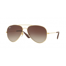 Ray-Ban RB3558 001/13 GOLD BROWN GRADIENT DARK BROWN napszemüveg