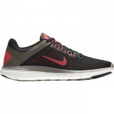 Nike Flex 2016 Run női futócipő, Black/Hot Punch, 38.5 (830751-012-7.5)