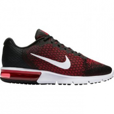 Nike Air Max Sequent 2 férfi futócipő, Black/Team Red, 45 (852461-006-11)