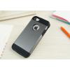 iPhone 5 5S műanyag bumper szürke színben