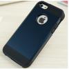 iPhone 5 5S műanyag bumper kék színben