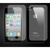 Apple iPhone 4 4S elő + hátlapi fólia szett (matt)