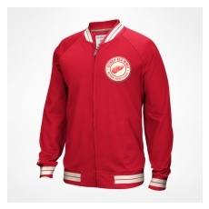 CCM Detroit Red Wings Kabát Full Zip Track Jacket 2016 - XXL,(EU)