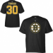 Reebok Boston Bruins Póló #30 Tim Thomas - L