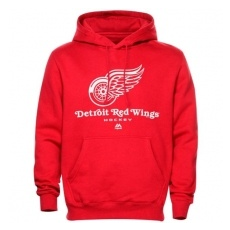Majestic Detroit Red Wings Pulóver Critical Victory VIII - S