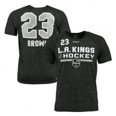 Reebok Los Angeles Kings Póló #23 Dustin Brown - S