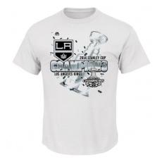 Majestic Los Angeles Kings Póló 2014 Stanley Cup Pumped Up Celebration - XXL