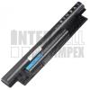 Dell Inspiron 15 3537 4400 mAh 6 cella fekete notebook/laptop akku/akkumulátor utángyártott