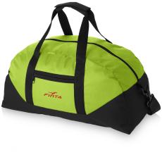 Stadium táska, zöld (Állítható vállpánttal, cipzáros oldalzsebbel. 600D poliészter. Termékméret: 45,7)