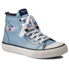 Pepe Jeans Tornacipő PEPE JEANS - Industry Embroidery PGS30272 Lt Thames 32