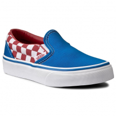 Vans Teniszcipő VANS - Classic Slip-On VN0A32QIMJ4 (Chackerboard) Racing Red