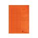 Gyorsfűző karton A/4 VICTORIA narancs 5 db IDPGY08