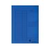 Gyorsfűző karton A/4 VICTORIA kék 5 db IDPGY04
