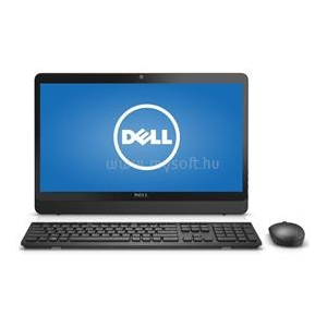 Dell Inspiron 24 3464 All-in-One PC Easel Stand (fekete) | Core i5-7200U 2,5|12GB|250GB SSD|0GB HDD|Intel HD 620|MS W10 64|3év (3464_223912_12GBS250SSD_S)