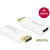DELOCK DisplayPort HDMI Átalakító Fehér 5cm 65580