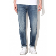 Jack Jones Jack&Jones Glennn Original Kék Férfi Slim Fit Farmernadrág, W33-L30 (12109970-BLUE-DENIM-W33-L30)