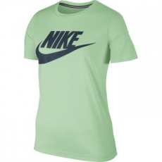 Nike Essential női póló, Fresh Mint/Blue, S (829747-343-S)
