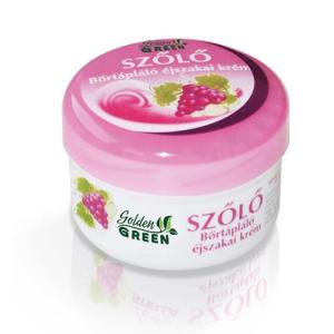 Stella Golden Green szőlő bőrtápláló éjszakai arckrém, 100 ml