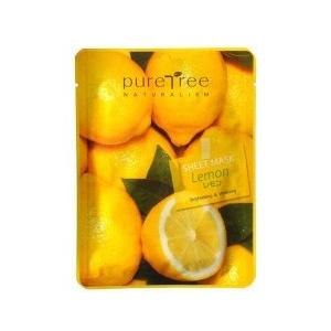 Alveola Pure Tree Lemon frissítő, tápláló arcmaszk