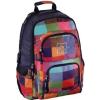 Hama Kereskedelmi Kft. Hama iskolatáska, hátizsák all out /Sunshine/ színes kockás
