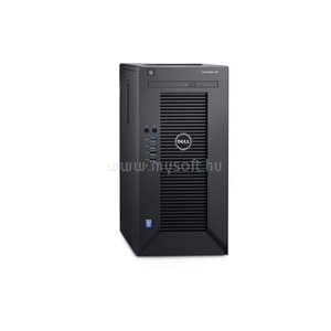 Dell PowerEdge Mini T30 | Xeon E3-1225v5 3,3 | 8GB | 2x 250GB SSD | 1x 2000GB HDD | nincs | 3év (PET30_228610_S2X250SSDH2TB_S)