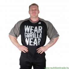 Gorilla Wear COLORADO OVERSIZED T-SHIRT fekete/szürke 4XL póló Gorilla Wear