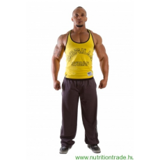 Gorilla Wear LOGO STRINGER TANK TOP sárga L Gorilla Wear