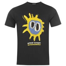 Official Primal Scream férfi póló fekete M