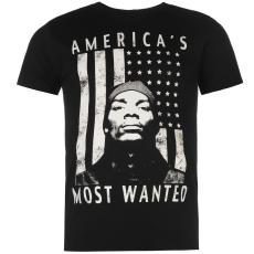 Official Snoop Dogg férfi póló fekete L