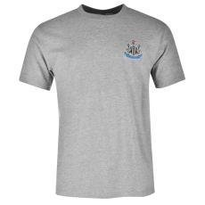 NUFC Small Crest férfi póló szürke M