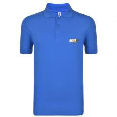 Moschino Férfi galléros póló kék M